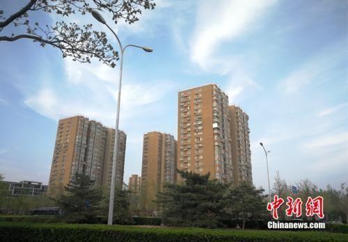 资料图:北京市丰台区小屯路某小区外景。中新网 邱宇 摄