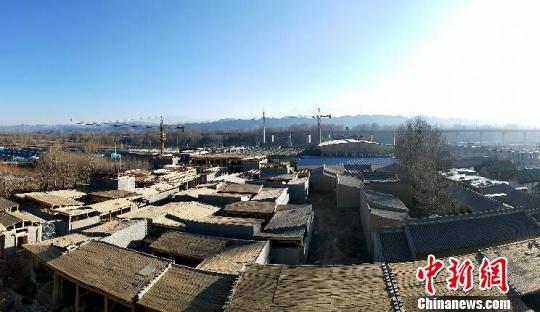 图为袁家村・河湟印象全景。(资料图) 颜金梅 摄