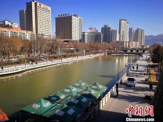 图为流经青海省会西宁市的南川河。(图文无关) 张添福 摄