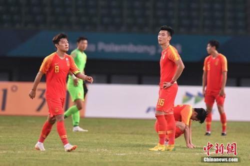 资料图:U23国足。 中新社记者 杨华峰 摄