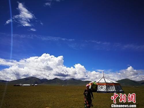 图为三江源区域。(资料图)中新社记者 张添福 摄