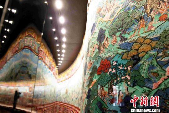 图为论坛举办地青海藏文化博物院新馆。 张添福 摄