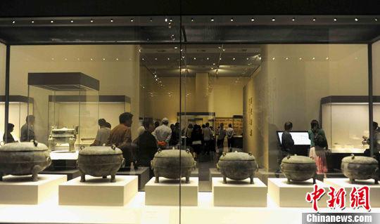资料图:中国国家博物馆。中新社发 张勤 摄