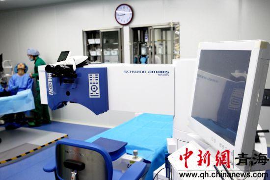 图为西宁市第一医疗集团总院眼科屈光手术中心。张添福 摄