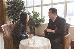 政协委员接受时报记者采访。时报记者 李富生 摄