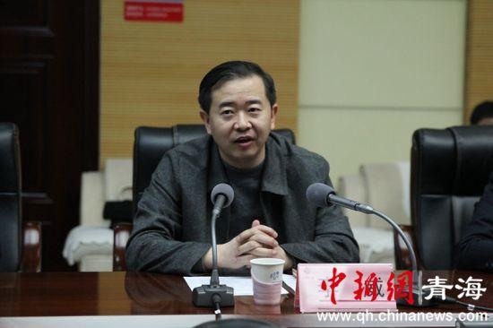 图为西部矿业集团有限公司党委副书记李威。张海雯摄