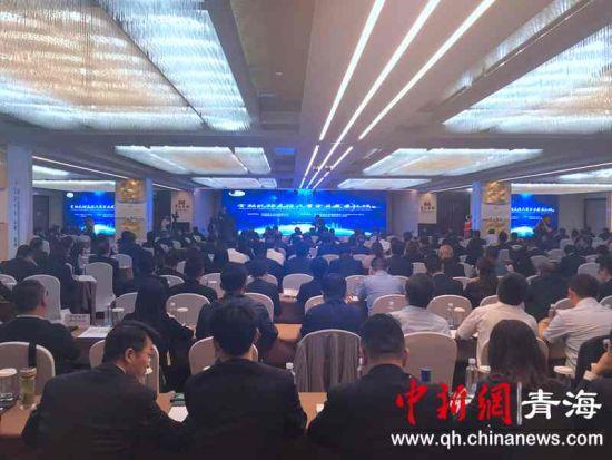 图为6月21日在青海西宁举行金融机构支持民营企业发展论坛现场。罗云鹏摄。