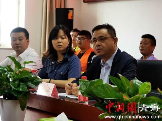 图3为中建五局党委副书记、董事、工会主席江森讲话。