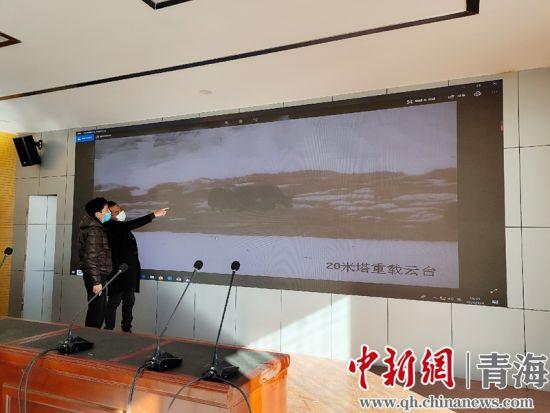 图为青海隆宝国家级自然保护区工作人员开展疫情期间监测工作。钟欣摄