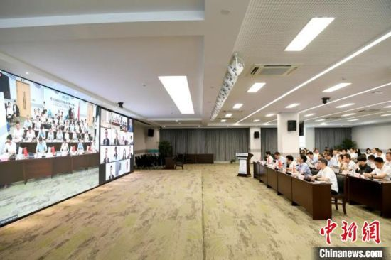 会议现场。杭州亚残组委 供图