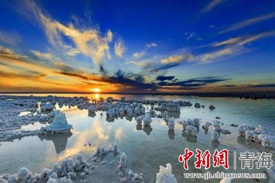 图为察尔汗盐湖。格尔木市委宣传部供图