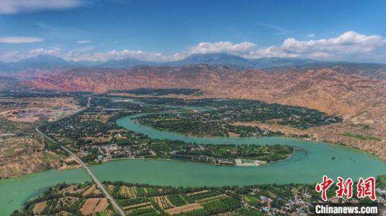 图为青海省黄河流域。(资料图)青海省水利厅 供图