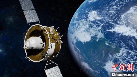 效果图。中国航天科技集团八院 供图