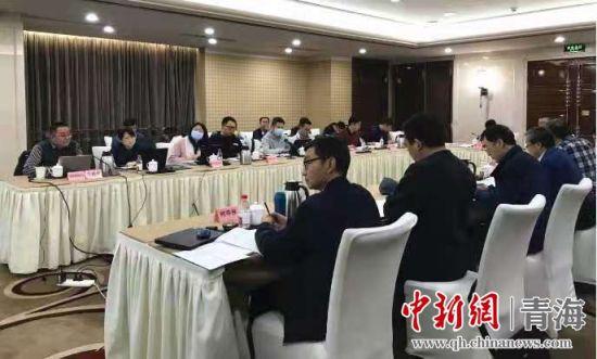 """图为国网青海电力2021年""""揭榜挂帅""""核心科技项目在京启动。何炳勋摄"""