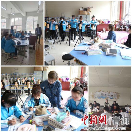 西宁世纪教育集团开展听评课活动