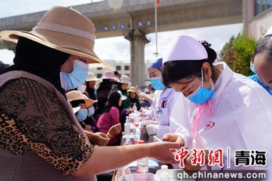 图为活动现场。西宁市第一医疗集团供图
