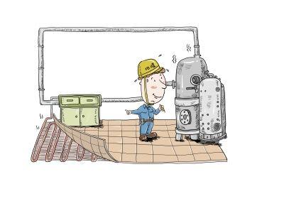 新型地暖施工更便利