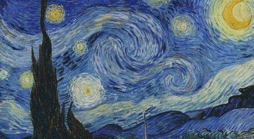 Night).出奇得相似.-欧空局发布星空图像 酷似梵高名画 星夜