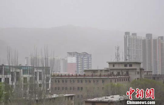 河西走廊沙尘天气致西宁空气质量中度污染
