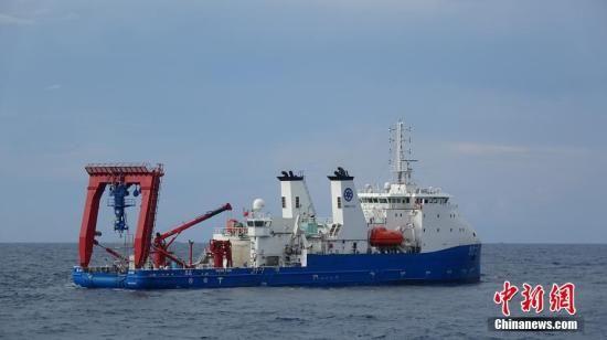 中国首次大深度潜水器联合科学考察在南海启动