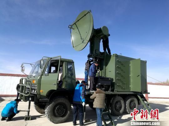 青海开展云水资源监测试验预防雪灾发生