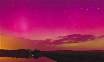 太阳风暴影响地球 法国也能看到极光