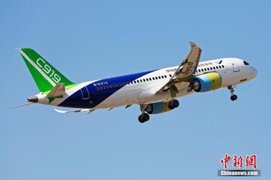 C919大飞机新春再出发 今年102架机将适航取证试飞