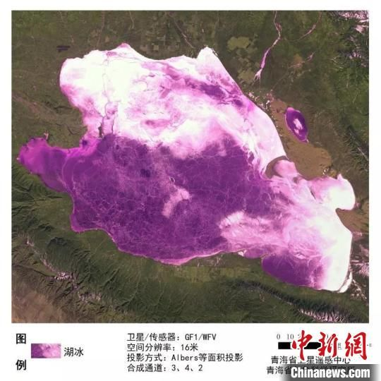 地震造成青海(hai)湖冰面破裂(lie)?景區有關部門回應︰假的