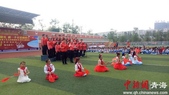 西宁市聋哑学校儿童福利院特教班挂牌成立图片