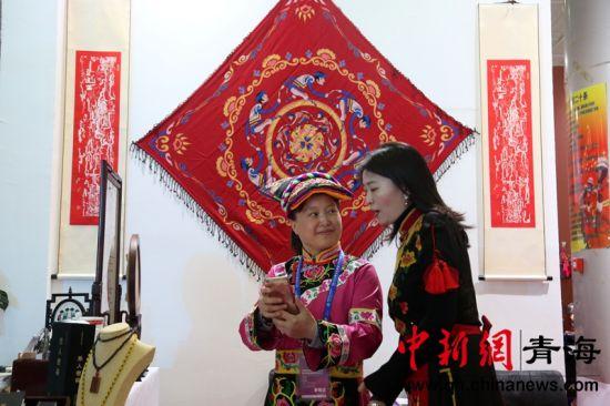 藏羌彝文化产业走廊特色文化旅游精品展亮相青海