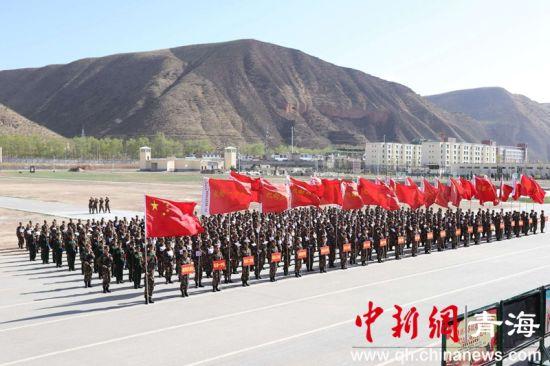 武警青海总队机动第一支队首届军体运动会掠影