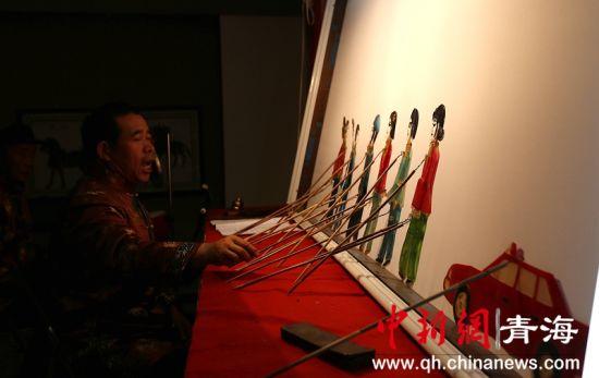 """青海大通:皮影之乡""""浓缩""""多种民间艺术"""