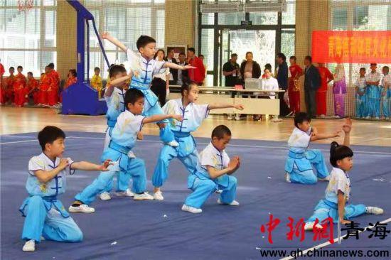 2019青海省青少年武术套路锦标赛精彩开幕