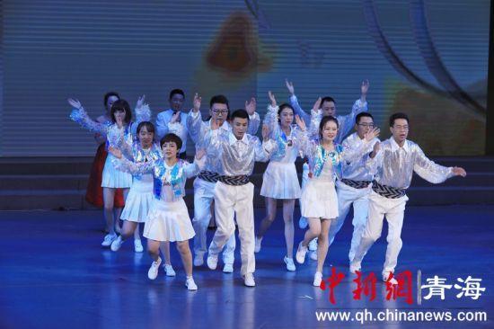 """青海省应急管理厅举办""""歌唱祖国""""文艺演出"""