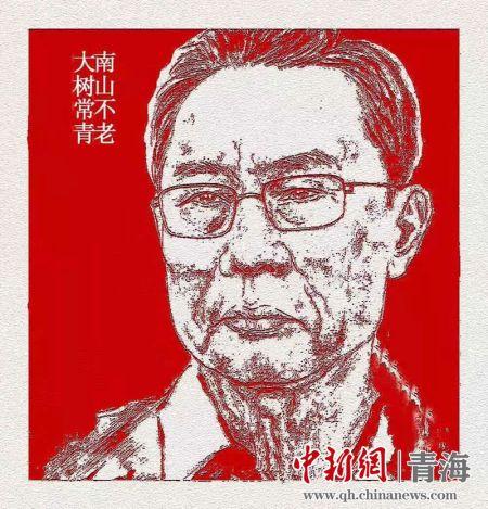 """青海油田老人創(chuang)作""""別樣""""剪(jian)紙為抗(kang)擊疫情加油"""