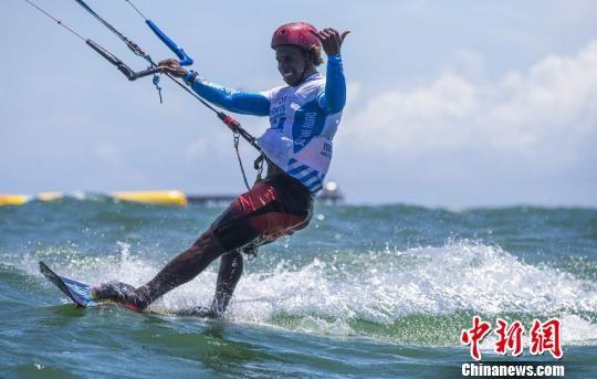 2018中国博鳌国际风筝冲浪节第四日:竞争进入白热化