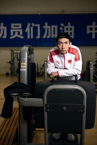 专访武大靖:我要拿这块金牌给队里出口气