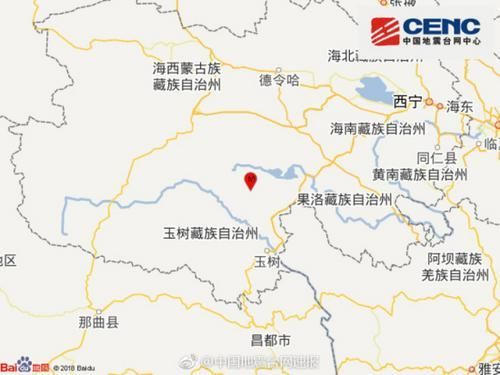 青海玉树称多县发生5.3级地震 暂无人员伤亡报告