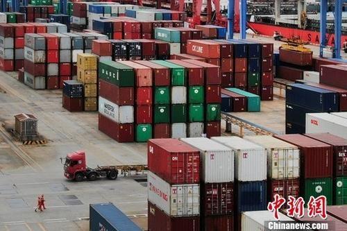 """青海省与""""一带一路""""沿线国家(地区)外贸同比增长两成"""