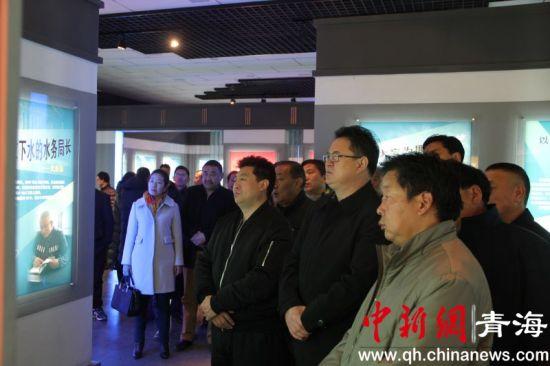 青海果洛州甘德县全县党员领导干部接受警示教育